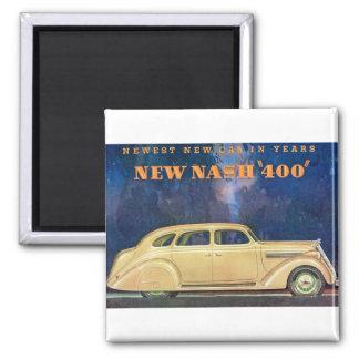 "New Nash ""400"" 2 Inch Square Magnet"