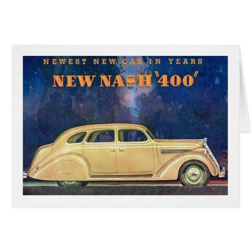 """New Nash """"400"""" Greeting Card"""