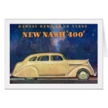 """New Nash """"400"""" Greeting Cards"""