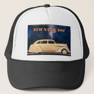 New Nash 400 - Newest New Car in Years - Vintage Trucker Hat