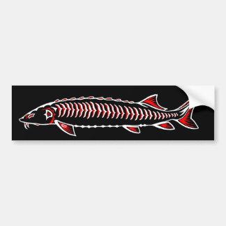 New Native - White Sturgeon Bumper Sticker
