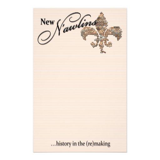 """new n'awlins"" stationery"