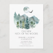 New Neck of the Woods New Address Post Card