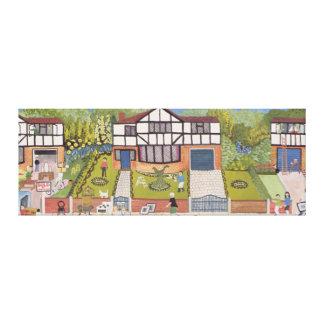 New Neighbourhood Canvas Print