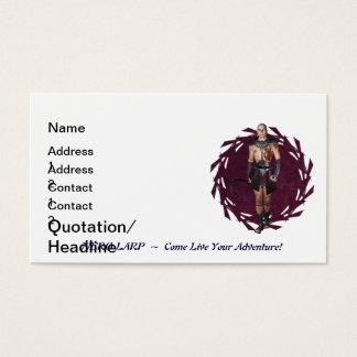 New NERO Int LARP Template Design Business Card