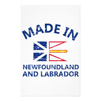 New Newfoundland and Labrador Coat of arms Stationery