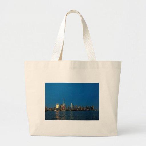 New night lights of New York City USA Bag