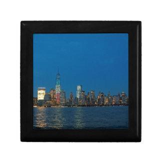 New night lights of New York City USA Gift Box