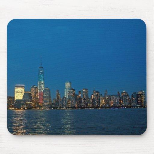 New night lights of New York City USA Mouse Pad
