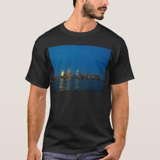 New night lights of New York City USA T-Shirt