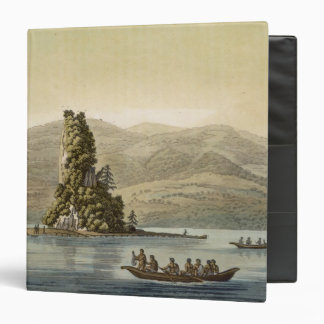 New Norfolk near Vancouver (colour engraving) 3 Ring Binders