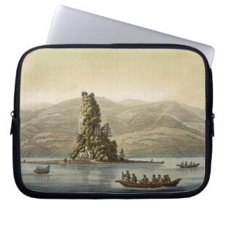 New Norfolk near Vancouver (colour engraving) Computer Sleeve