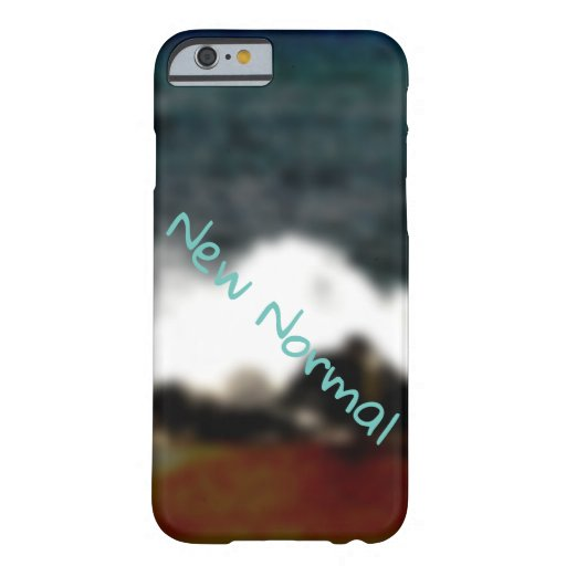 New Normal New Experiences Ocean Blue Digital Art Barely There iPhone 6 Case