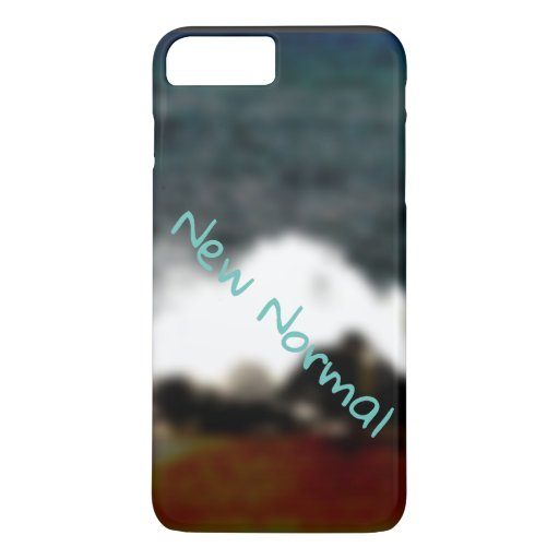 New Normal New Experiences Ocean Blue Digital Art iPhone 8 Plus/7 Plus Case