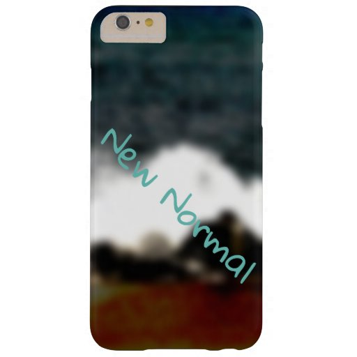 New Normal New Experiences Ocean Blue Digital Art Barely There iPhone 6 Plus Case