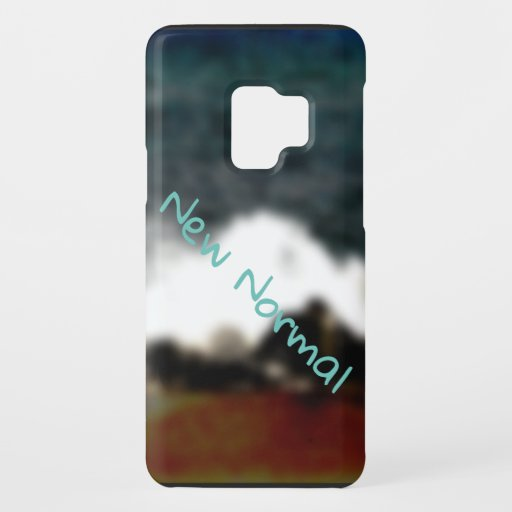 New Normal New Experiences Ocean Blue Digital Art Case-Mate Samsung Galaxy S9 Case