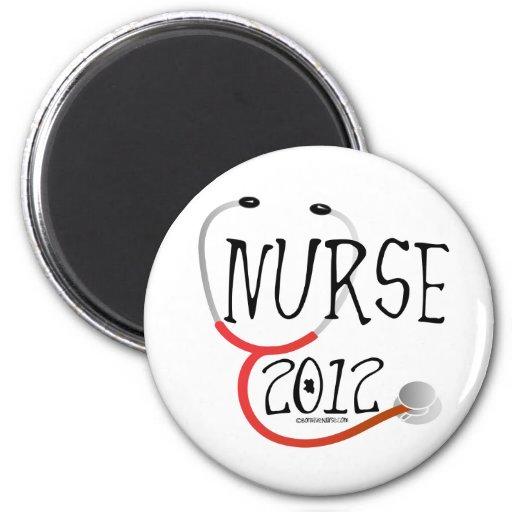New Nurse Graduation Announcement 2012 Magnet