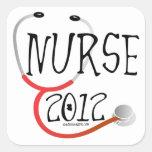 New Nurse Graduation Announcement 2012 Sticker
