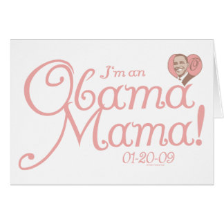 New Obama Mama 2009 Gear Card