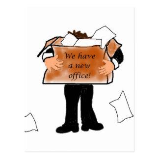 New Office Announcement Postcard