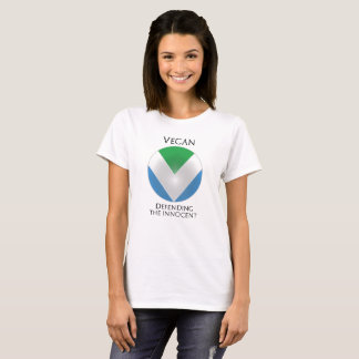 NEW OFFICIAL VEGAN FLAG: Shield of the Defender T-Shirt