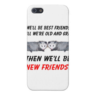 New Old Friends with Possums iPhone SE/5/5s Cover