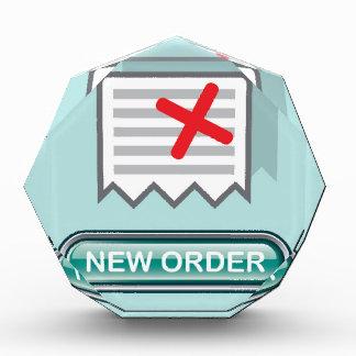 New order Button Icon Vector Award