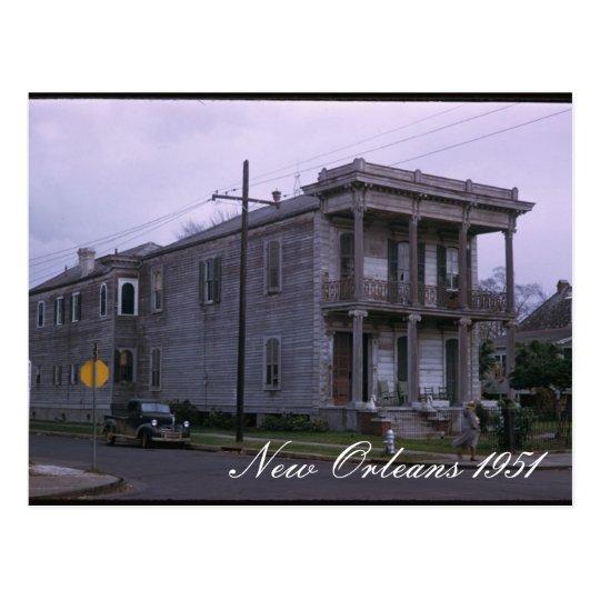 New Orleans 1951 Postcard