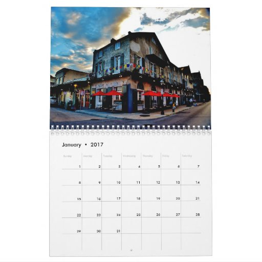 May Calendar New Orleans : New orleans calendar zazzle