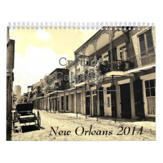 New Orleans 2014 Calendarios De Pared