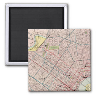New Orleans 2 2 Inch Square Magnet