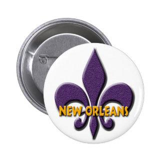 New Orleans 2 Inch Round Button
