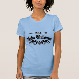 New Orleans 504 Camiseta