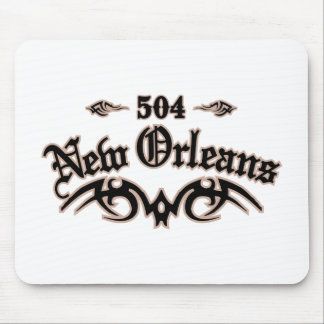 New Orleans 504 Mouse Pad