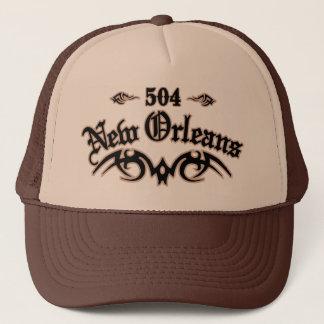 New Orleans 504 Trucker Hat