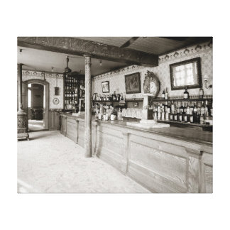 New Orleans Absinthe Room, 1906 Stretched Canvas Print