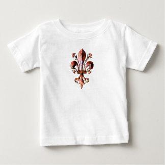 New Orleans Antique Fleur de lis metallic Infant T-shirt
