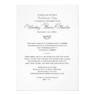 New Orleans Bachelorette Party Invitation-Custom