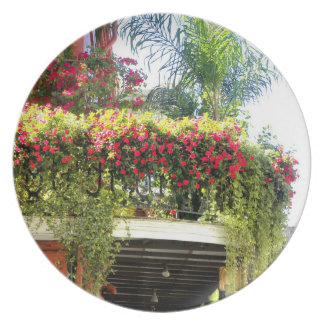 New Orleans Balcony In Bloom Plate