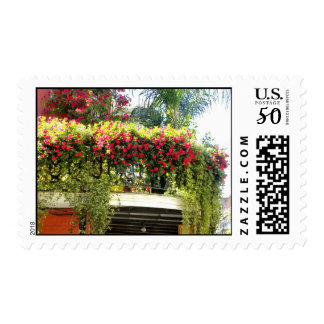 New Orleans Balcony  Postage Stamp