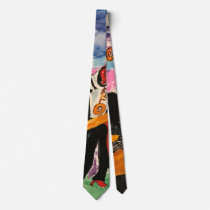 New Orleans band tie