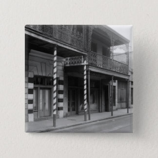 New Orleans Barbershop, 1930s Pinback Button