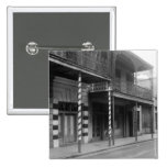 New Orleans Barbershop, 1930s Pinback Buttons