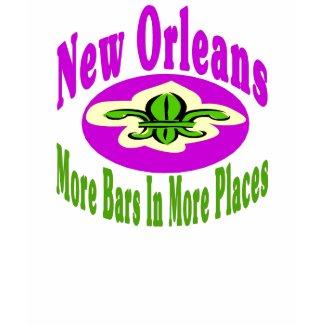 New Orleans Bars shirt