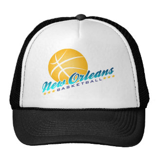 New Orleans Basketball Mesh Hat