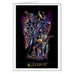 """""""New Orleans - Black Coffee"""" (Blank Inner) Card"""