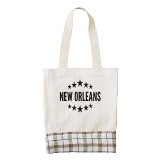 New Orleans Bolsa Tote Zazzle HEART