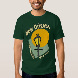 New Orleans Bourbon Street T Shirts