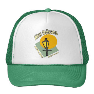 New Orleans Bourbon Street Trucker Hat