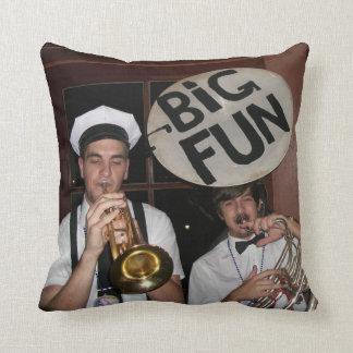 New Orleans Brass Band Pillow